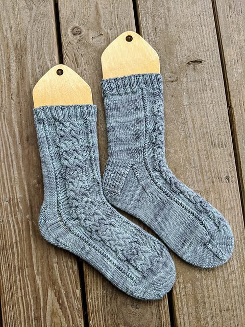 Cabled Socks for Everyone