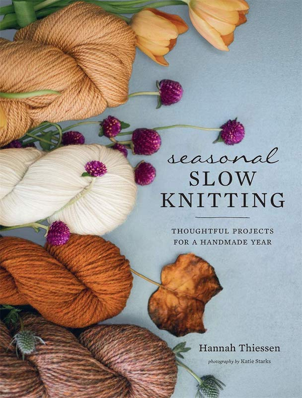Cover of Seasonal Slow Knitting